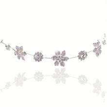 Hot Wholesale Bridal Jewelry Wedding Jewelry Luxury Heart Flowers Butterfly Headwear Hair Accessories For Women Wedding