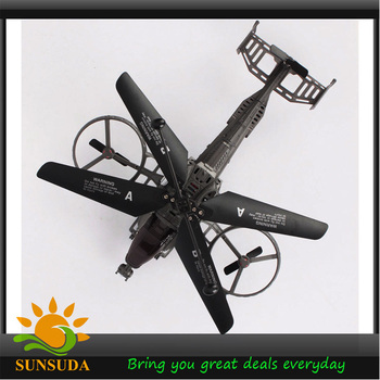 Free Shipping 4CH Avatar GunShip J6683 4-CHANNELS Remote Control I/R RC Gyro Helicopter Toys Can Switchable Control