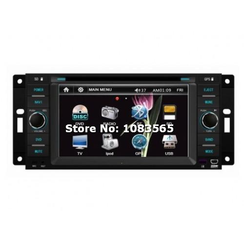 For Dodge Durango 2008 - 2010 Car GPS Navigation DVD Player With Radio Bluetooth TV Advanced A5 System(China (Mainland))