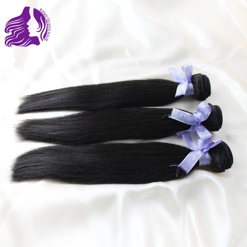 8-28 Virgin Malaysian Hair Human Hair Extensions Straight Weft 3pcs/lot free ship Natural Color Unprocessed 100% cuticle<br><br>Aliexpress