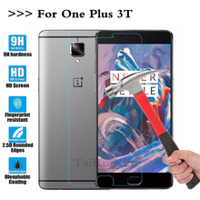 (TaiRuiXing) Screen Protector Film 0.3mm 9H 25D Front Premium Tempered Glass One Plus 3T oneplus Cover - ShenZhen WeiXingDa Co., Ltd Store store