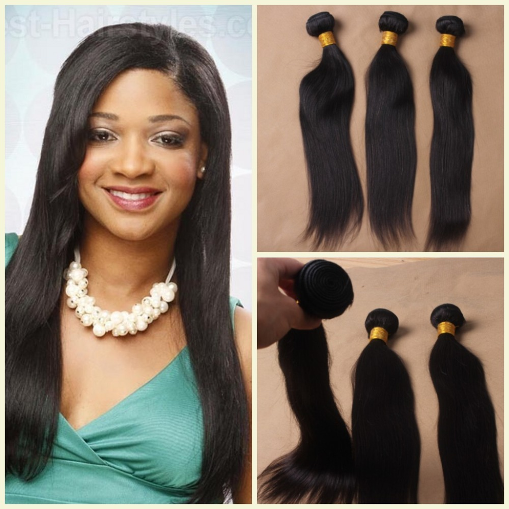 Brazilian Straight Hair 6A Unprocessed Magi Hair Products 3 pcs Lot Brazilian Straight Virgin Hair Extension<br><br>Aliexpress
