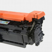4PC Lot Compatible toner For HP LaserJet CM3530 CM3530FS CP3525 CP3525DN CP3525N color toner Cartridge Grade
