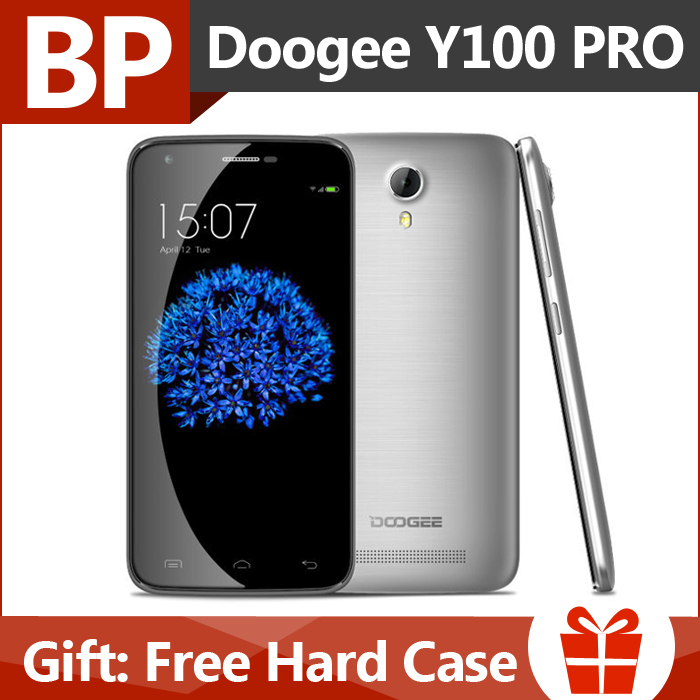 In Stock Original Doogee Y100 Pro 4G LTE MTK6735 5 inch1280x720 Quad Core Android 5.1 Mobile Cell Phone 2GB ROM 16GB RAM 13MP(China (Mainland))