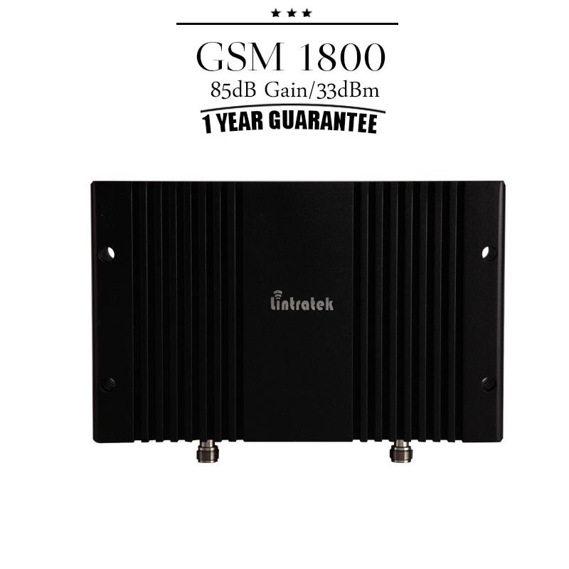 Cover 1800 Square Meters GSM / DCS 1800 mhz Mobile Signal Booster 85dB Gain Cell Phone Repeater 20dBm Large Power Amplifier(China (Mainland))