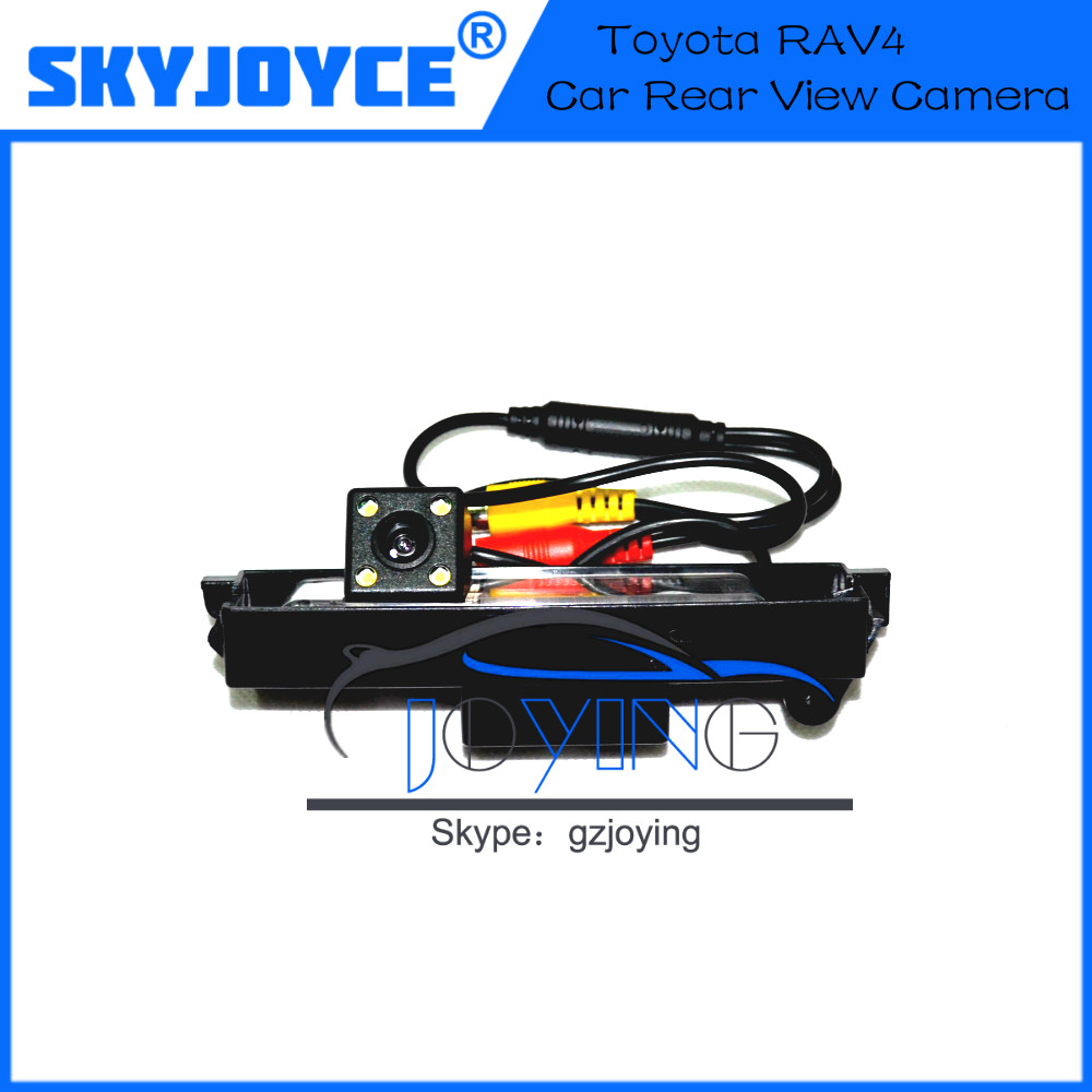 2016 NEW free shipping Rear View Reverse CAMERA for Toyota RAV4 SONY CCD night version car rear view camera auto rear camera(China (Mainland))