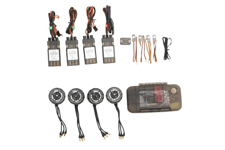 Original DJI E800 4*Motor/ESC with 4 pair props with Accessories pack with Updater for ESC