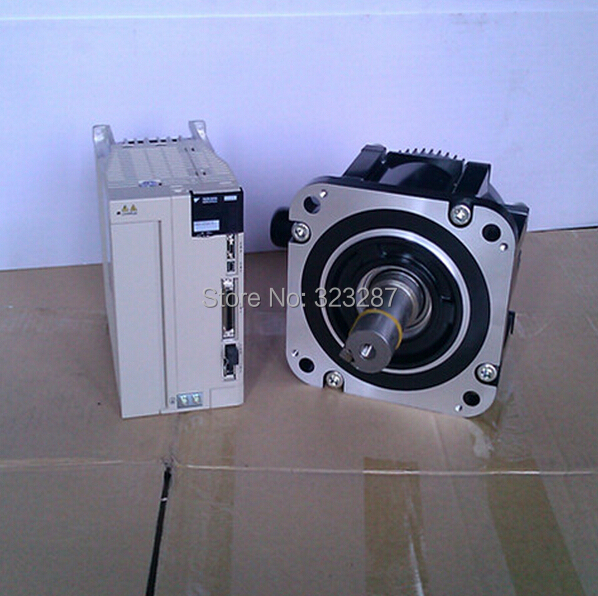 Yaskawa AC Servo Motor+Drive+Cables SGMGV-09ADC61+SGDV-7R6A01A BRAND-NEW IN ORIGINAL PACKAGING(China (Mainland))
