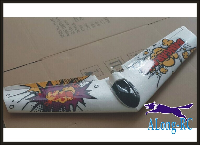 RC airplane/RC MODEL HOBBY TOY/ parkflyer / WINGSPAN:1000mm FLYWING /BOOMERANG (have kit set and PNP set)(China (Mainland))