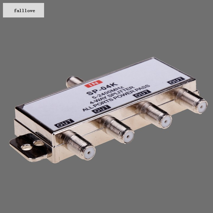 High Quality Splitters Satellite 4x1 DiSEqC Switch Satellites FTA TV LNB Switch For Satellite Receiver 38(China (Mainland))