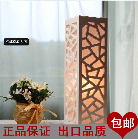 new arrival Ofhead decoration table lamp led brief living room lamps floor lamp dim night light free shipping(China (Mainland))