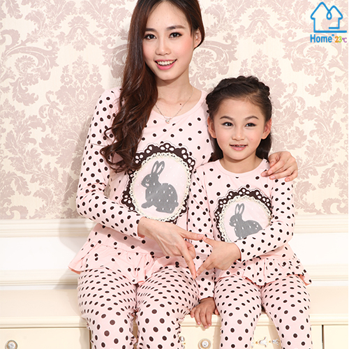 2015 font b Matching b font Mother Daughter Clothes font b Family b font Look Girl