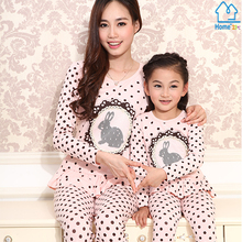 2015 Matching Mother Daughter Clothes Family Look Girl and Mother Mommy and Me clothes Parent-child Outfit Ma e Filha Set