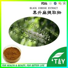 ISO Certified factoy supply Pure Natural powder Black Cohosh extract 300g/lot(China (Mainland))