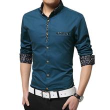 M-5XL Striped shirt men camisa masculina shirts summer style imported clothing men clothes Cotton Long sleeve mens dress shirts(China (Mainland))