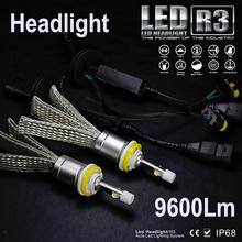 R3 80W 9600lm Cree XHP-50 Chip Car LED Headlight Bulb Lamp Kit H1 H3 H4 H7 H9 H11 9004 9005 HB3 9006 HB4 9007 HB5 H13 9008 - Sinolyn International Co., Ltd. store