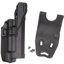 Buy Tactical Level 3 Belt Holster Ipsc Flashlight Airsoft Pistol GL 17 19 22 23 31 Military Army Hunting Gun Accessories for $19.03 in AliExpress store