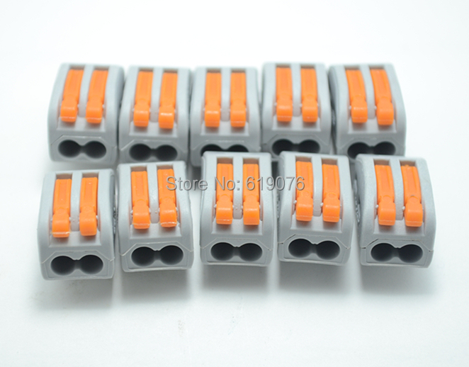 Терминал Wiring 222/412 2 AWG 28/12 222-412 1pcs 222 415 universal compact wire wiring connector 5 pin conductor terminal block with lever awg 28 12
