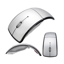 Sliver Wireless Mouse Mini Snap-in Transceiver 2.4G USB Cordless Folding mouse and mice