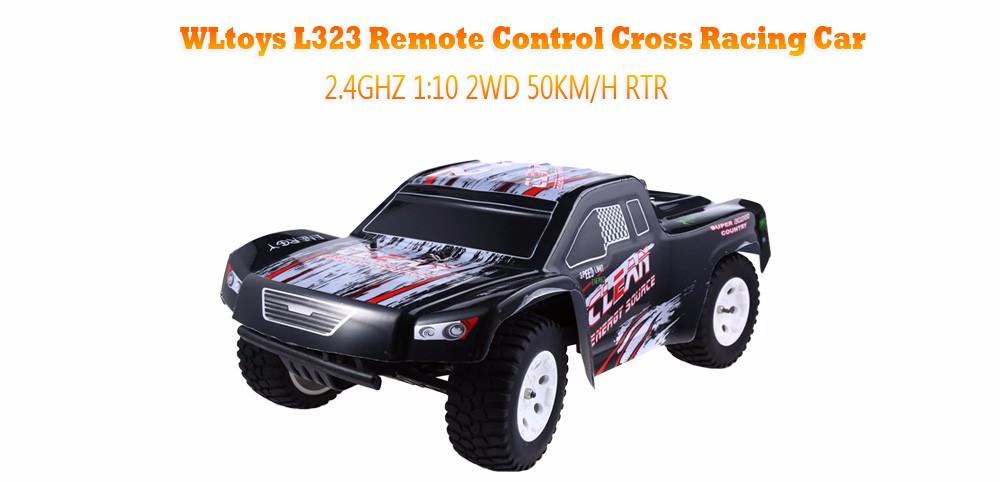 WLtoys L323 RC Automotive With 2.4GHZ 1:10 50KM/H Electrical RTR RC Cross Nation Racing Car Toy Rock Crawler Monster Truck Off-Highway