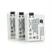 DSTE 3 Pcs 2100 mAh LP-E8 Rechargeable Battery For Canon EOS 550D 600D 650D 700D Digital X4 X5 X6i X7i Rebel T2i T3i T4i T5i