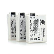 DSTE 3 Pcs 2100 mAh LP-E8 Rechargeable Battery For Canon EOS 550D 600D 650D 700D Digital X4 X5 X6i X7i Rebel T2i T3i T4i T5i