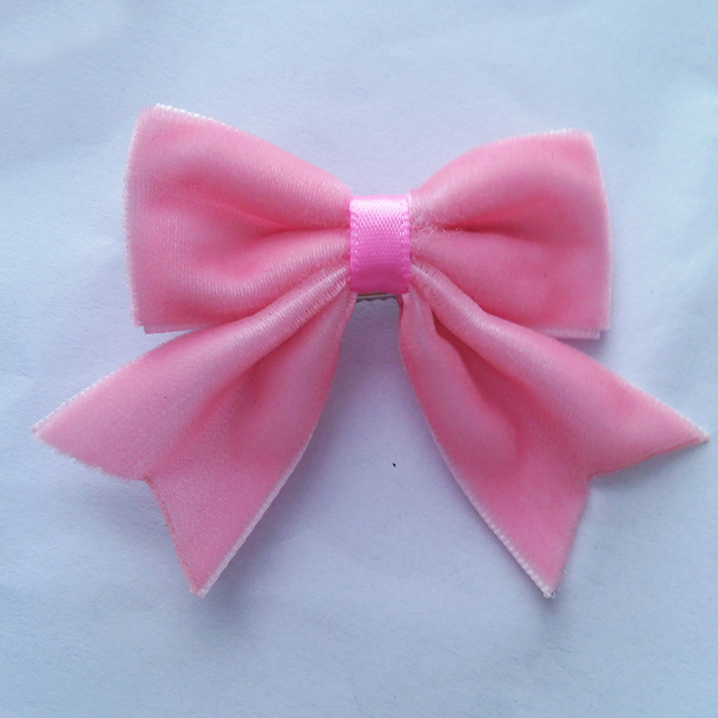 3Boutique Velvet Hair Bows Tails Cute Baby Girls Clips Kid's Alligator Hairgrips Children's Hairware - SUSAN BEAUTY store