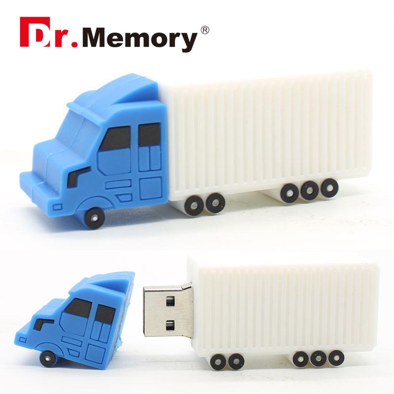 USB Flash Drive truck style usb 2.0 flash drive creative pendrive 8GB 16GB 32GB 64gb memoria stick wholesale customize(China (Mainland))