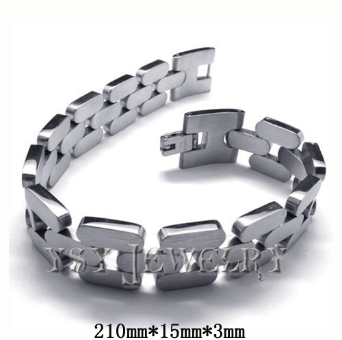 Fashion Jewelry Healing Magnetic skull 316L Stainless Steel Bracelet For Men Or Women With medic alert bracelets high fashion(China (Mainland))