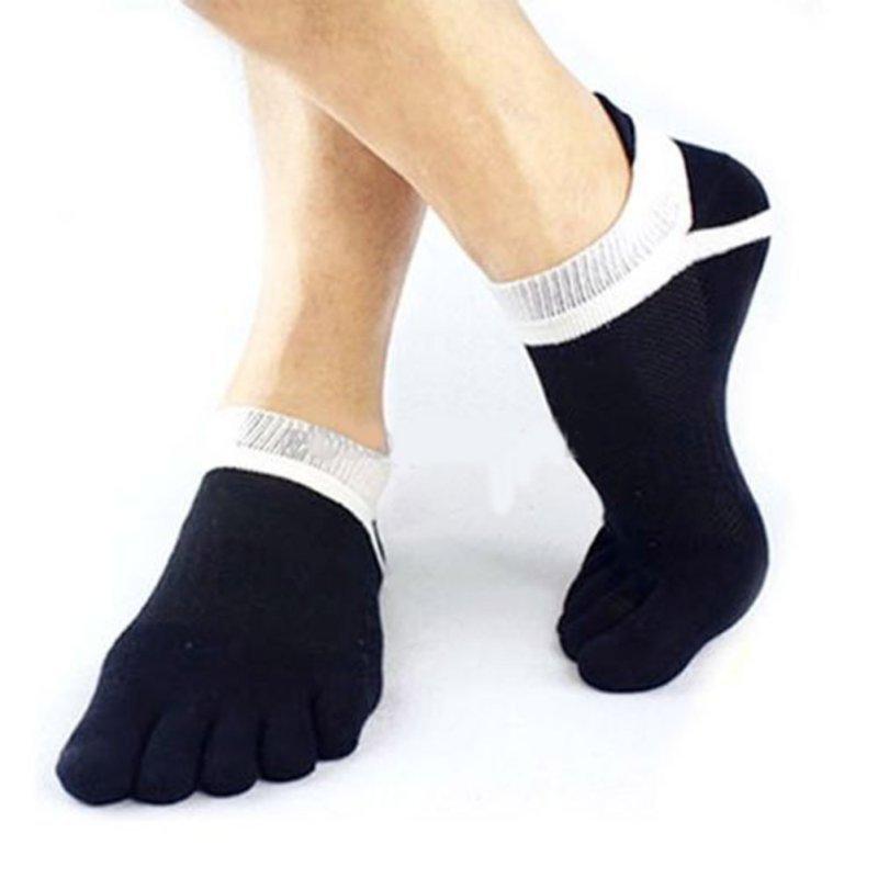 Men Cotton Sock Boys Finger Breathable Five Toe Socks Sports Pure Socks 1 Pair(China (Mainland))