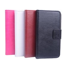 Flip Leather Magnetic Protective Case Cover For Lenovo A606 Smartphone