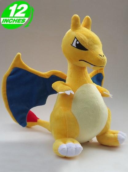 Free Shipping Japanese Anime Pokemon 32cm Cute Charizard Plush Toys Dolls Dragon Stuffed Toys(China (Mainland))