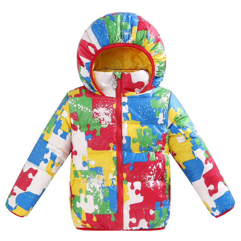 New Fashion Children Winter Jacket Hooded White Duck Down Coat Baby Snowsuits Thick Baby Winter Suits<br><br>Aliexpress