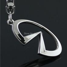 3d cutout series infiniti auto car logo emblem keychain key ring key chain case 4s laser lettering car accessories(China (Mainland))