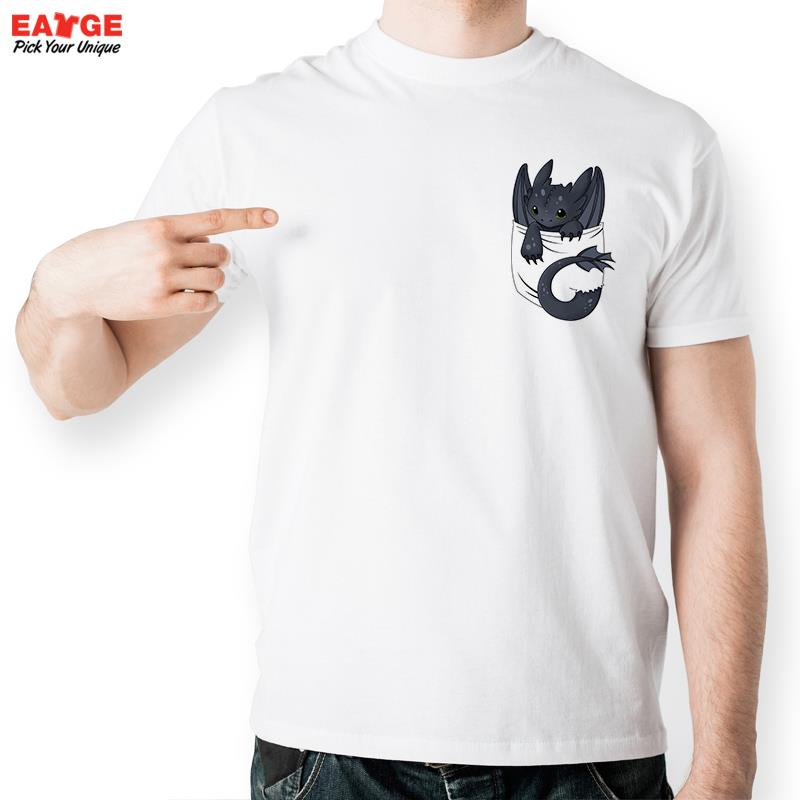 Your Dragon Night Fury Inside Pocket T Shirt Design T-shirt Cool Novelty Funny Tshirt Style Men Women Printed Fashion Top Tee(China (Mainland))