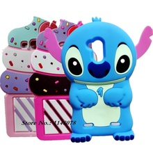 ZTE Blade V7 lite Case Cute Cartoon 3D Stitch Silicon Back Cover - Made In China Centre store