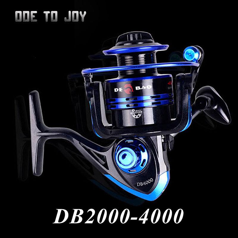 6 Ball Bearing Fishing Reel 5.5:1 Gear Ratio Spinning Fishing Reel Fishing Wheel with Free Spare Spool(China (Mainland))