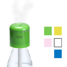 5 Color Fashion Portable USB Mini Water Bottle Caps Humidifier Mist Maker Rainbow(China (Mainland))