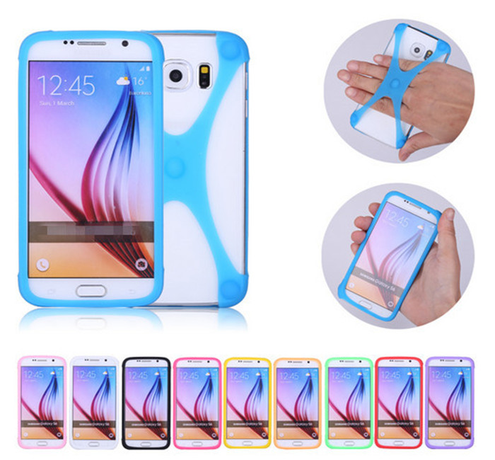 ZTE Blade V7 Lite Case Multi-function Frame Universal Luminous Silicon Bumper Ring Cover Phone Cases  -  Scarf and sunglasses area store