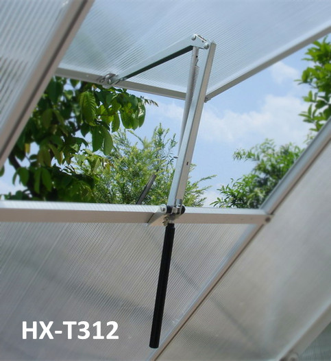 ALUMINUM Thermofor Non-electric solar powered automatic greenhouse window roof vent opener HX-T312
