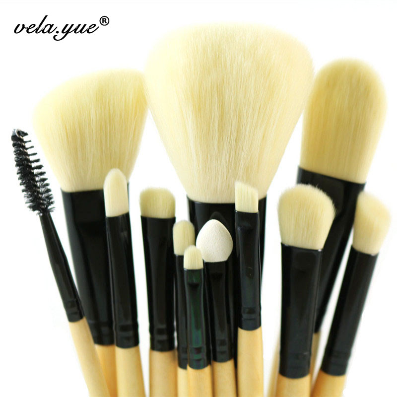Professional Makeup Brush Set 12pcs Premium Makeup Tools Kit<br><br>Aliexpress