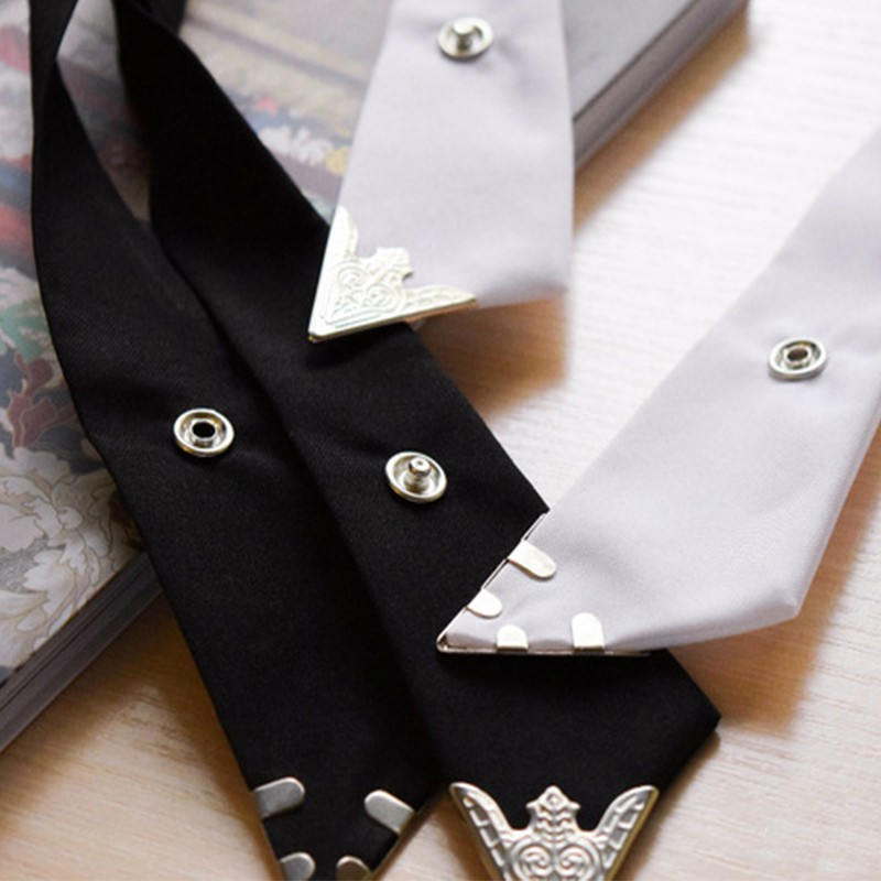 2016-Fashion-Adjustable-Cross-Polyester-Tie-Solid-Color-Collar-Cross-Wedding-Tie-White-Universal-Necktie-High (3)