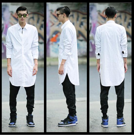 Turmec Long Sleeve Polo Dress Shirts For Men