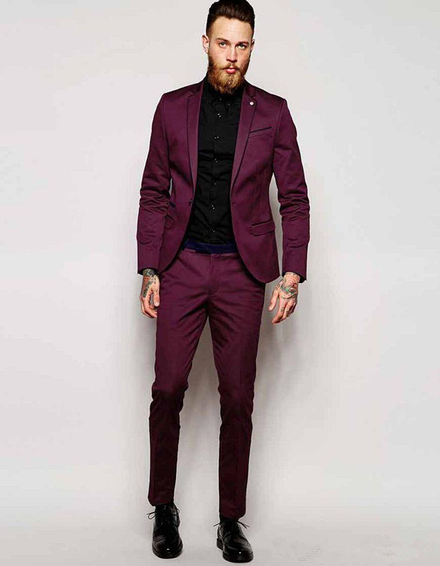 High Quality Burgundy Suits for Men Promotion-Shop for High