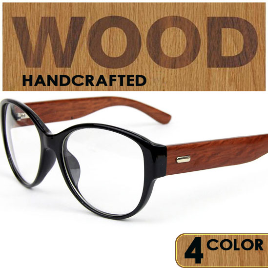 2016 new classic wood temple eyeglasses frames vintage wooden glasses frame for prescription retro wood eyewear