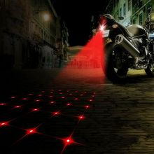Motorcycle Auto Anti-collision Laser Taillight Fog Lamp Car Anti-fog Parking Stop Tail Brake Car LED Warning Light HA10492(China (Mainland))