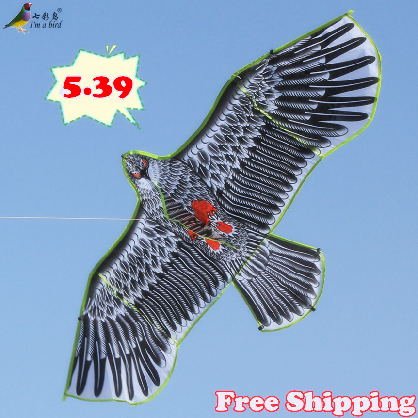 Free Shipping New Toys 2015 brand 160cm Huge Eagle Kite With String And Handle Novelty Toy Kites Eagles Large Flying For Gift(China (Mainland))