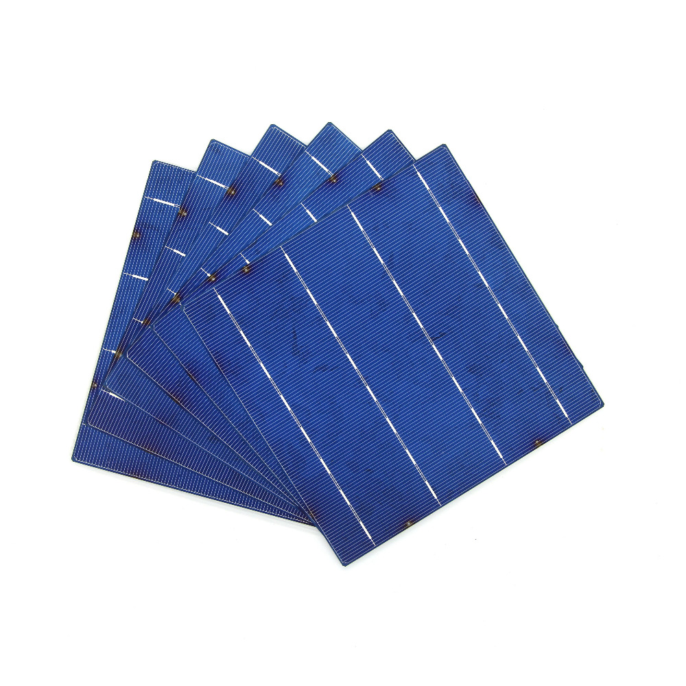 800 Pcs 4W 16.6% Efficiency Solar Cell 156MMx156MM Polycrystalline Silicon Waferproof(China (Mainland))