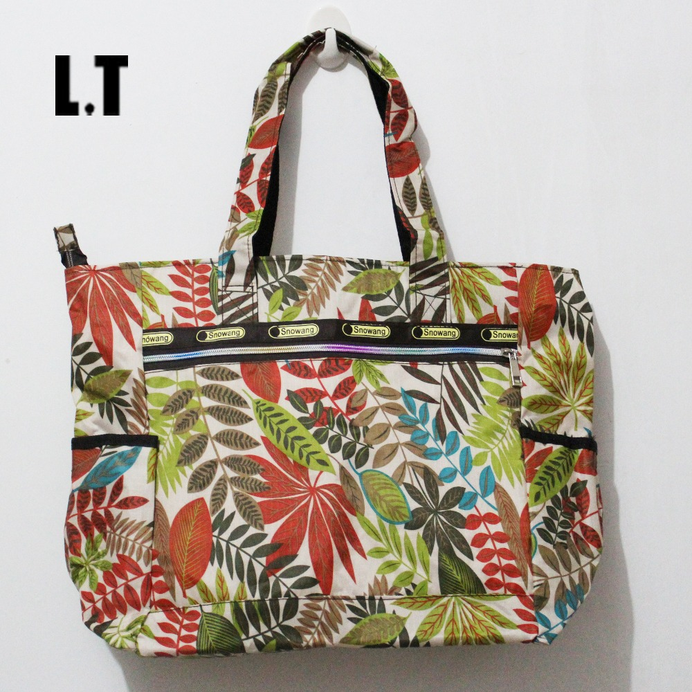 2015 women nylon summer beach printing big bag animal storage  mammy orangizer bag handbag waterproof big casual tote bag<br><br>Aliexpress