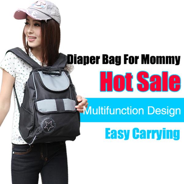 Бесплатная доставка мода бренд рюкзак пеленки мешок 600D водонепроницаемый мешок ...